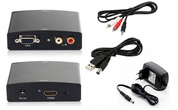 универсальный VGA-HDMI