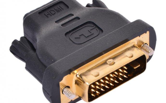 Переходник HDMI 19F - DVI-D
