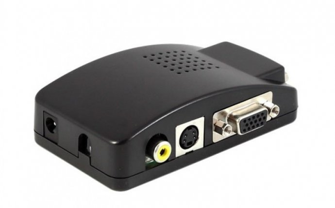 Универсальный конвертер VGA TV