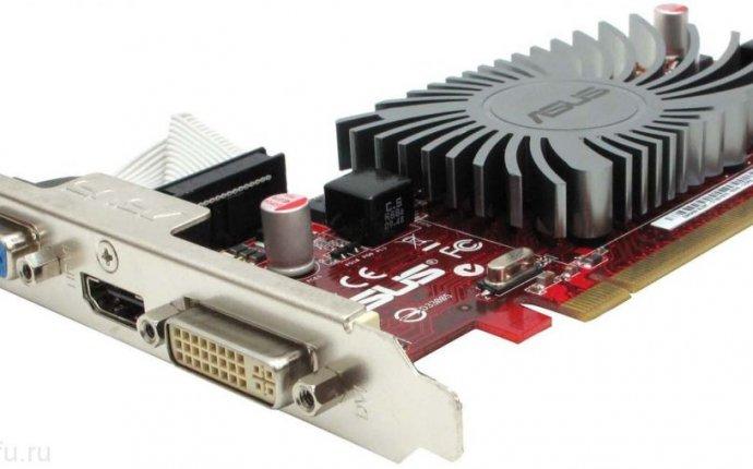 Видеокарта Asus PCI-E